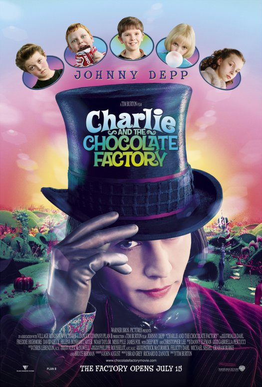 Preview image for LOM object Unterrichtseinheit mit Film: Charlie and the Chocolate Factory