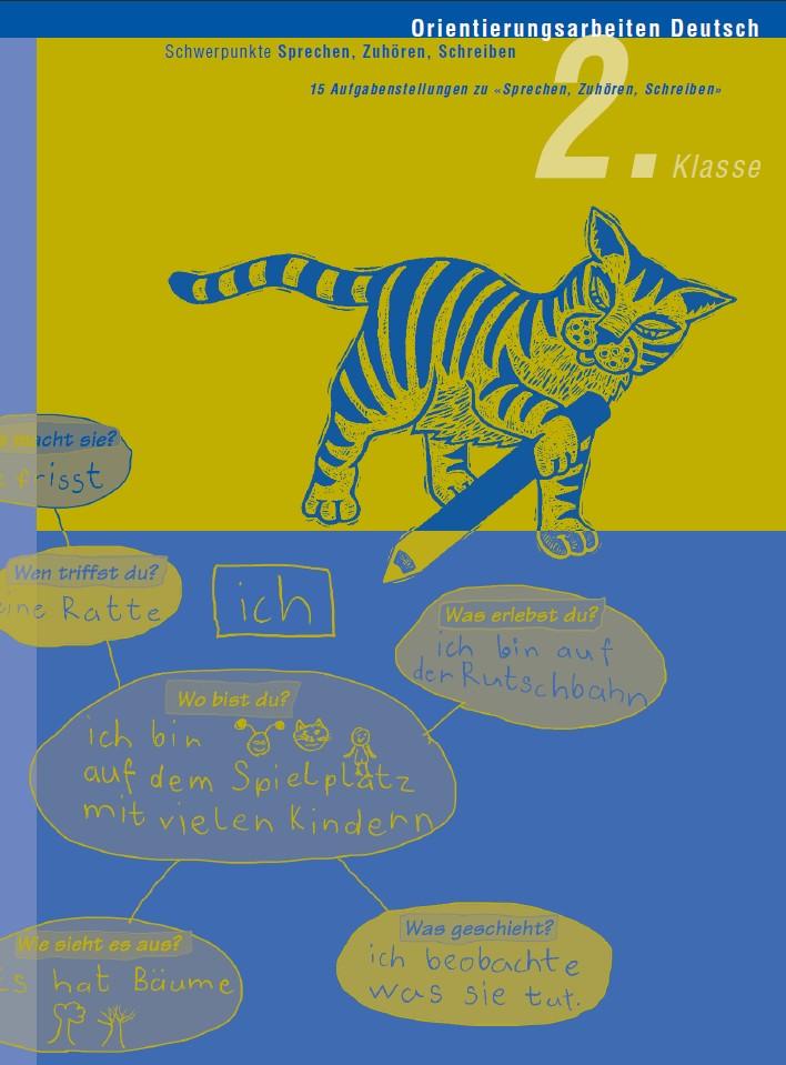 Preview image for LOM object Orientierungsarbeit Deutsch 2: Sprechen, Zuhören, Schreiben