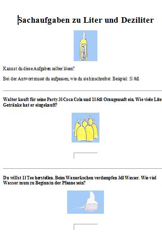 Preview image for LOM object Sachrechnen mit Hohlmassen 4