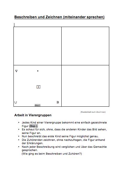 Preview image for LOM object Beschreiben und Zeichnen