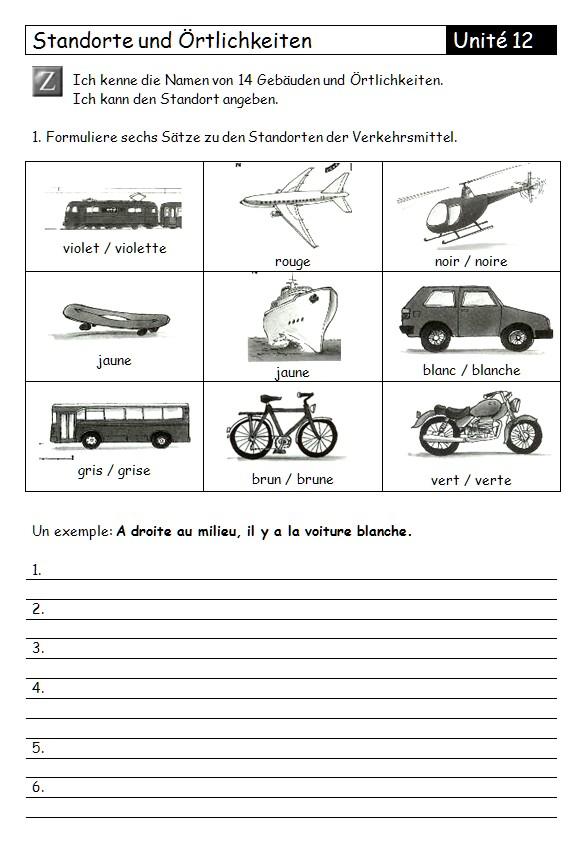 Preview image for LOM object Arbeitsblatt zu Standorte und Örtlichkeiten