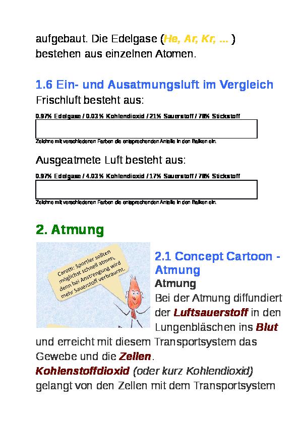 Groß Abschnitt 8 2 Photosynthese Arbeitsblatt Antworten ...
