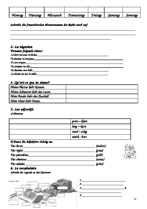 Contemporary Tu Befehle Arbeitsblatt Elaboration - Mathe ...