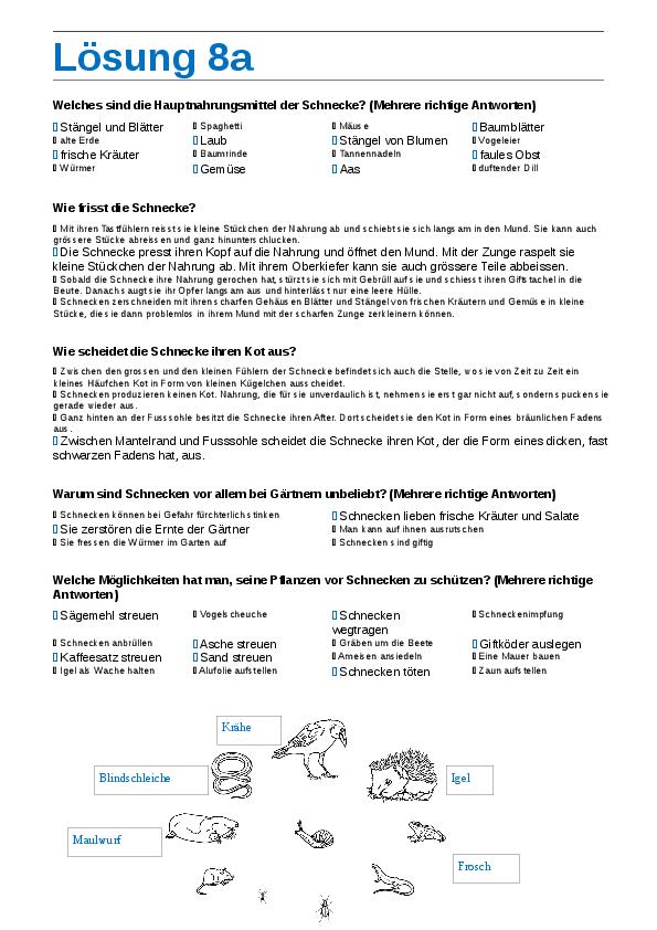 Groß Maulwurf Arbeitsblatt Antworten Auf Maulwurf Zeitgenössisch ...