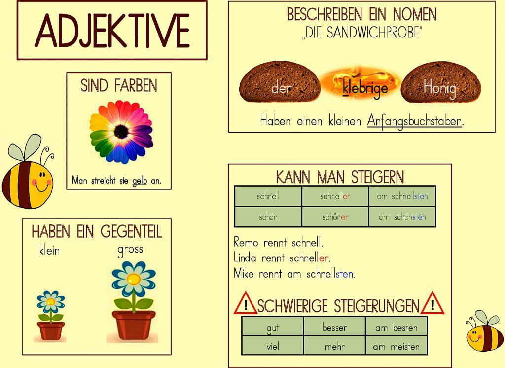 arbeitsblatt vorschule 187 nomen verben adjektive