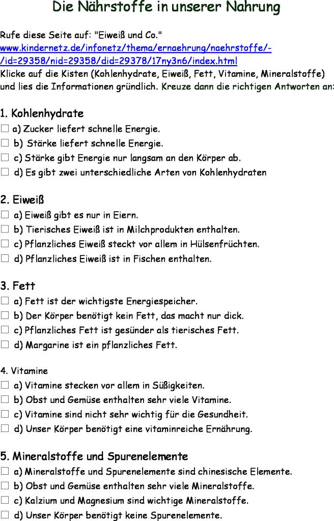 Erfreut Kohlenhydrate Arbeitsblatt Antworten Ideen - Super Lehrer ...