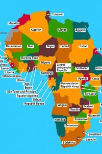 Länder Afrika Quiz