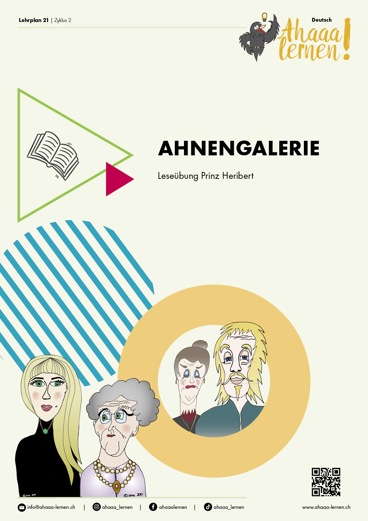 Preview image for LOM object Leseübung Ahnengalerie