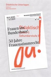 Preview image for LOM object Frauen ins Bundeshaus! 50 Jahre Frauenstimmrecht