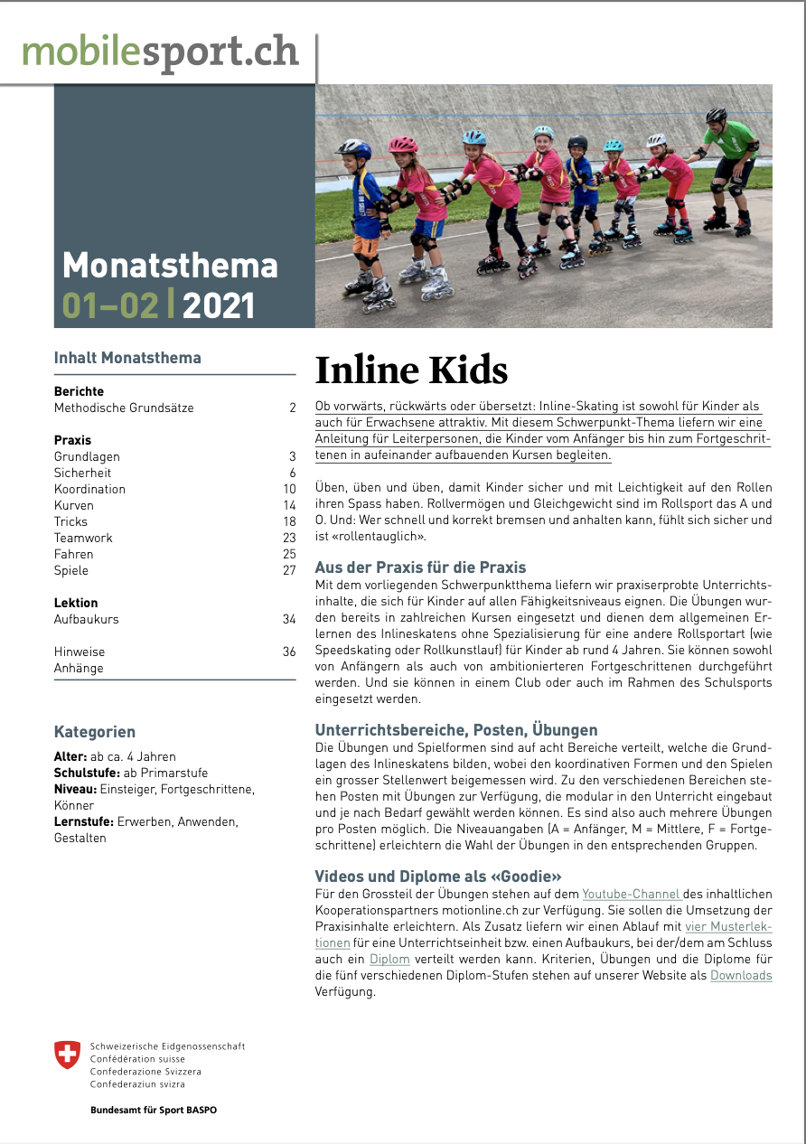 Preview image for LOM object Inline Kids: Flag Football - mobilesport Monatsthema