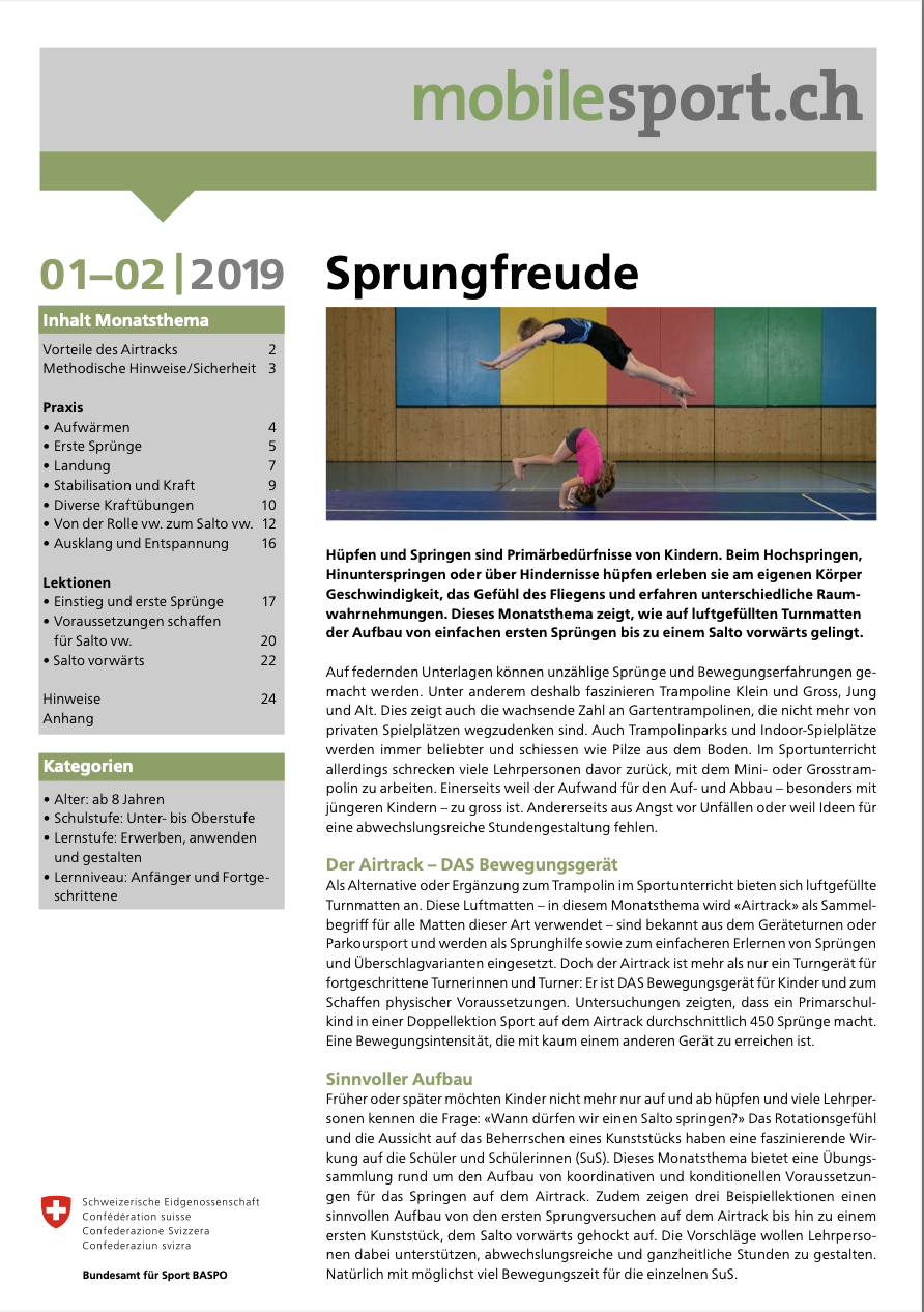 Preview image for LOM object Sprungfreude - mobilesport Monatsthema