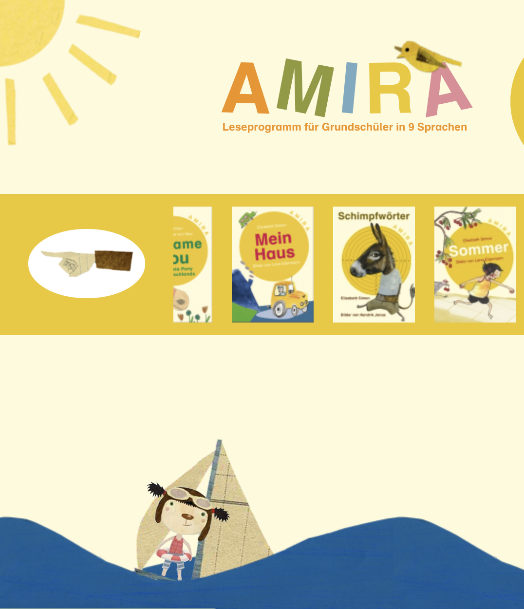 Preview image for LOM object Amira - Leseprogramm in neun Sprachen
