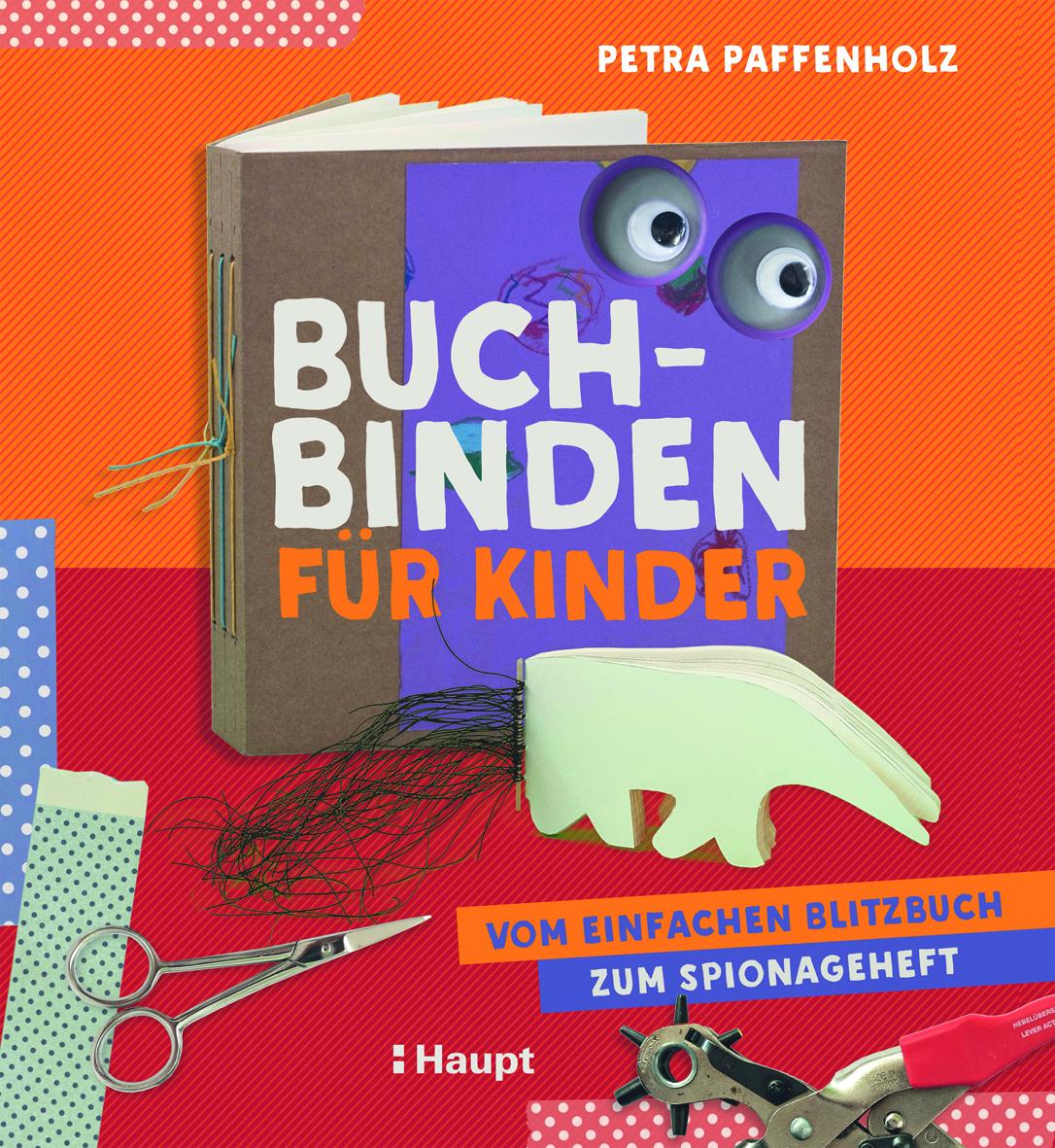 Preview image for LOM object Buchbinden mit Kindern - Vom einfachen Blitzbuch zum Spionageheft