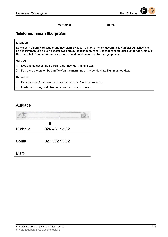 Preview image for LOM object Telefonnummern überprüfen