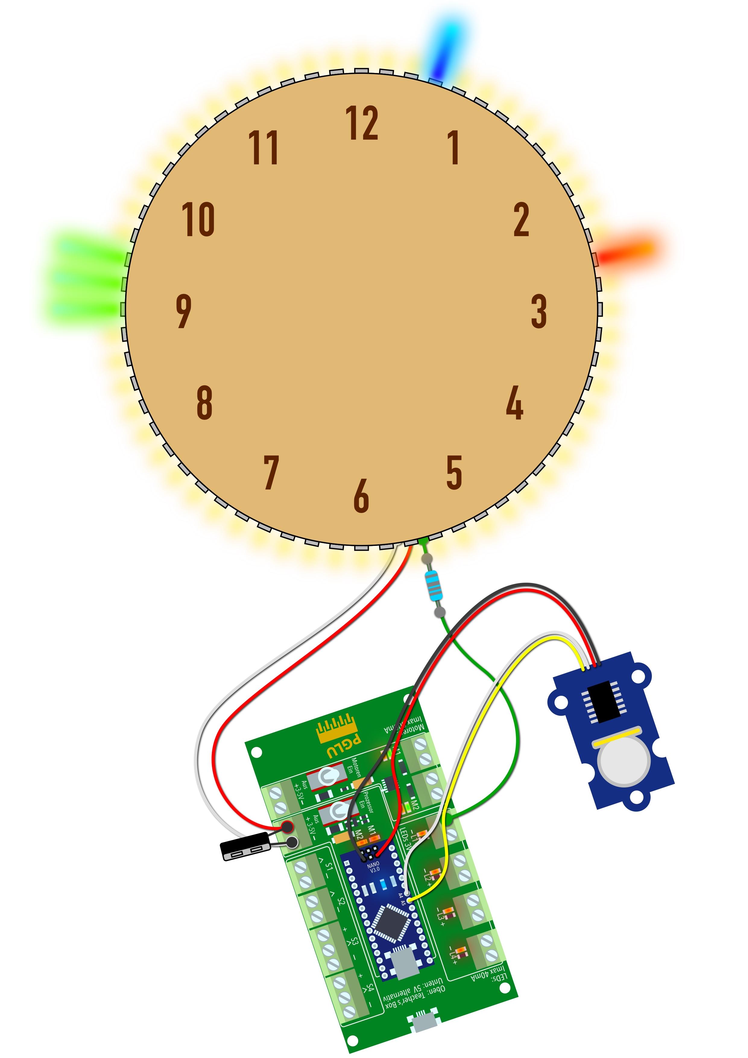 Preview image for LOM object Arduino Projekt - Neopixel Uhr gestalten und programmieren