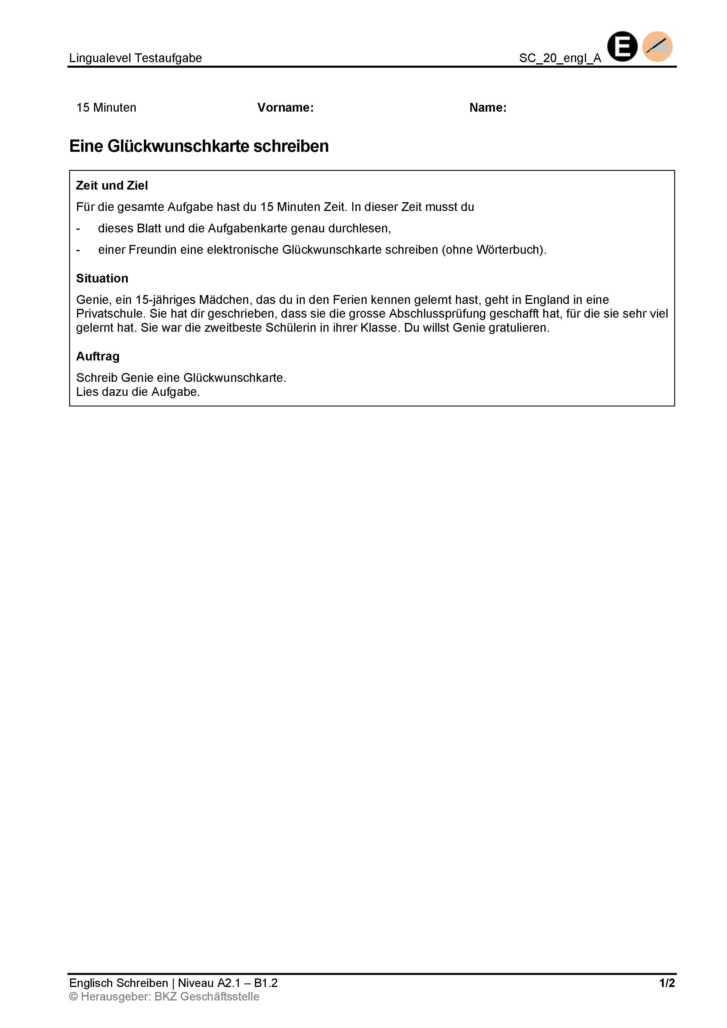 Preview image for LOM object Schreiben: Eine Glückwunschkarte schreiben