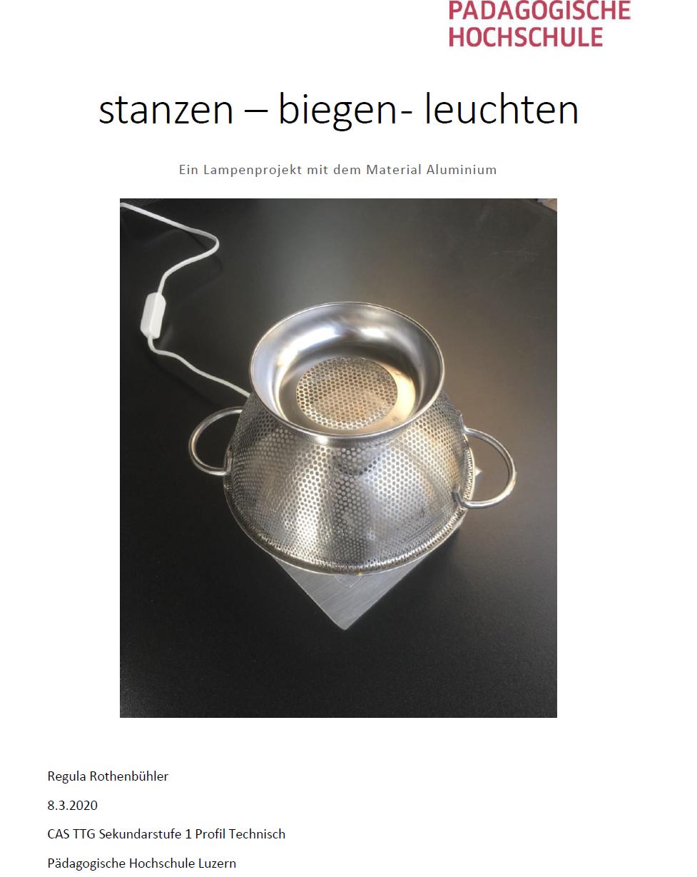 Preview image for LOM object stanzen biegen leuchten - Ein Lampenprojekt mit dem Material Aluminium