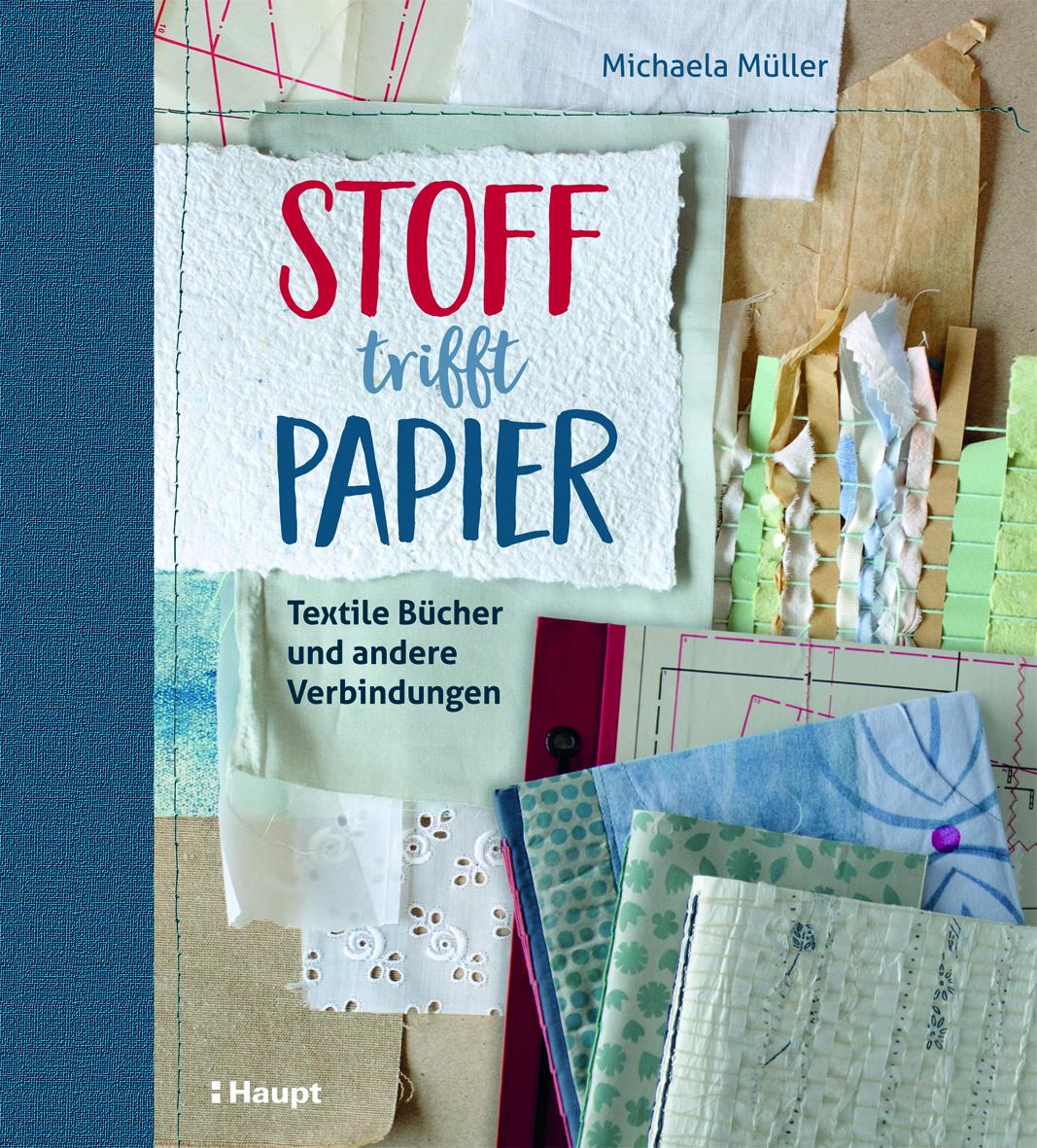 Preview image for LOM object Stoff trifft Papier - Textile Bücher und andere Verbindungen