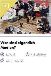 Preview image for LOM object Was sind eigentlich Medien?