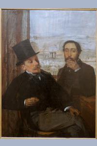 Preview image for LOM object Bilder allein zuhaus: Degas und Evariste de Valernes