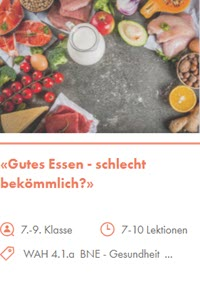 Preview image for LOM object Gutes Essen - schlecht bekömmlich?