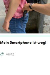Preview image for LOM object Mein Smartphone ist weg! Muss ich mir Sorgen um meine Daten machen?