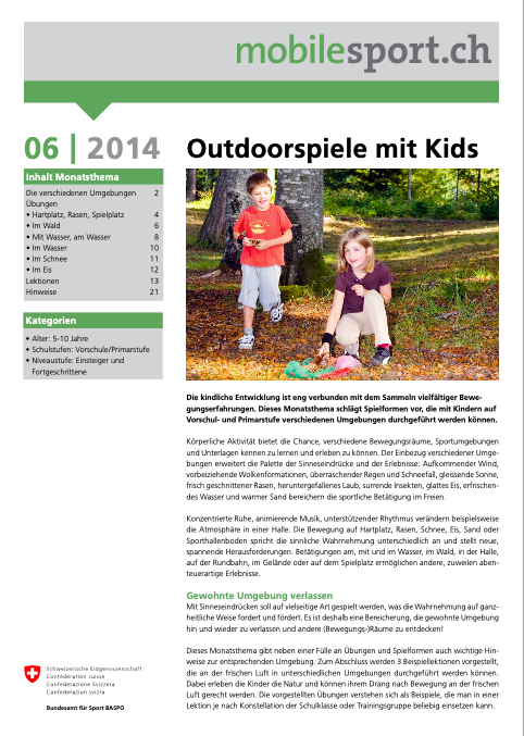 Preview image for LOM object Outdoorspiele mit Kids - mobilesport Monatsthema