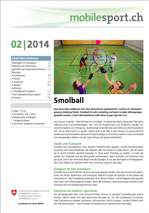 Preview image for LOM object Smolball - mobilesport Monatsthema