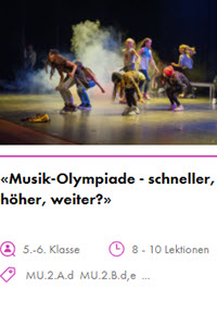 Preview image for LOM object Musik-Olympiade - schneller, höher, weiter?