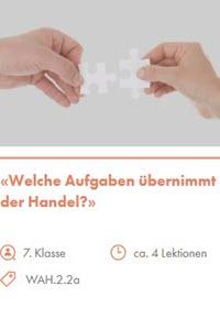 Preview image for LOM object Welche Aufgaben übernimmt der Handel?