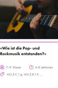 Preview image for LOM object Wie ist die Pop- und Rockmusik entstanden?