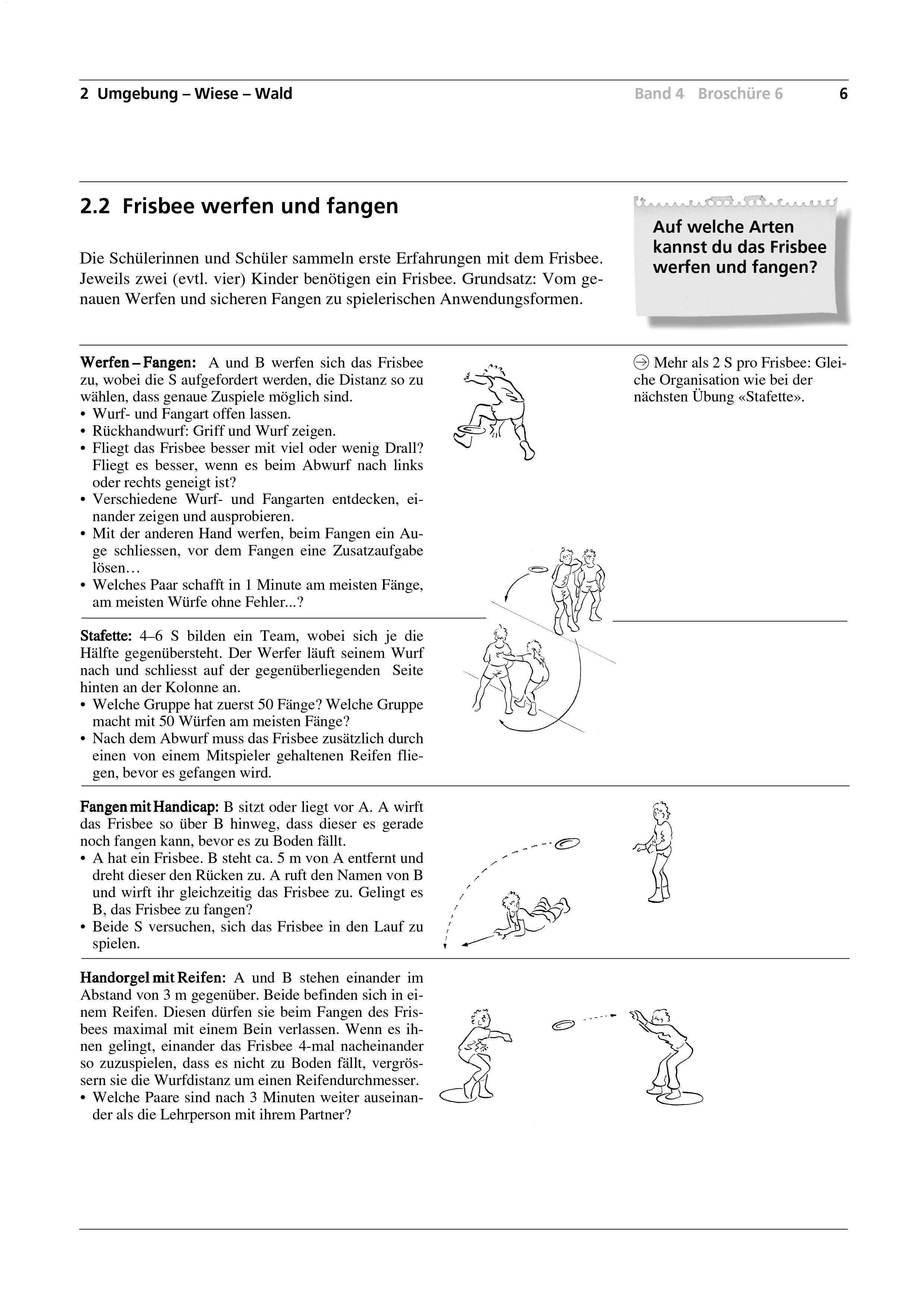 Preview image for LOM object Frisbee werfen und fangen