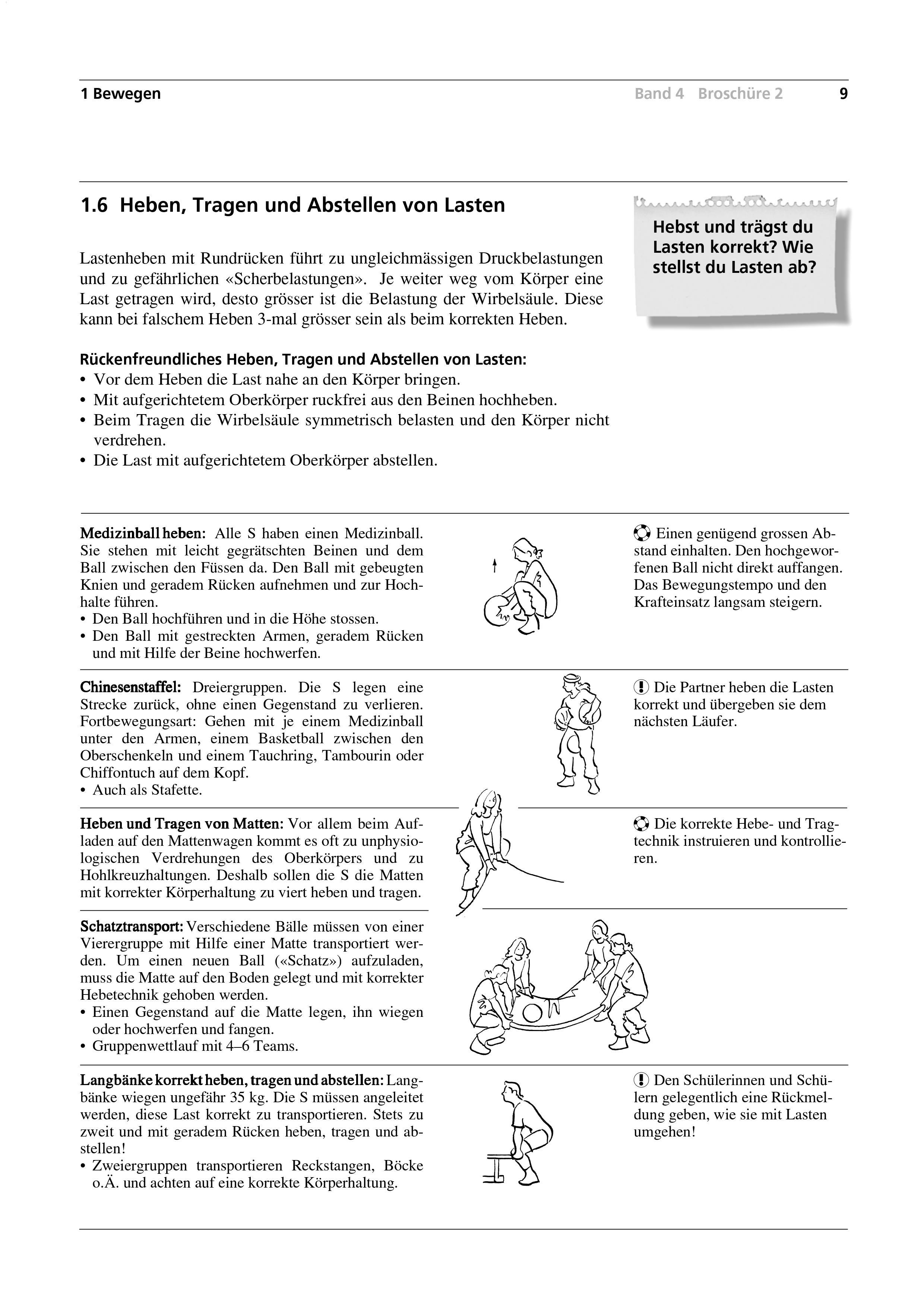 Preview image for LOM object Heben, Tragen und Abstellen von Lasten