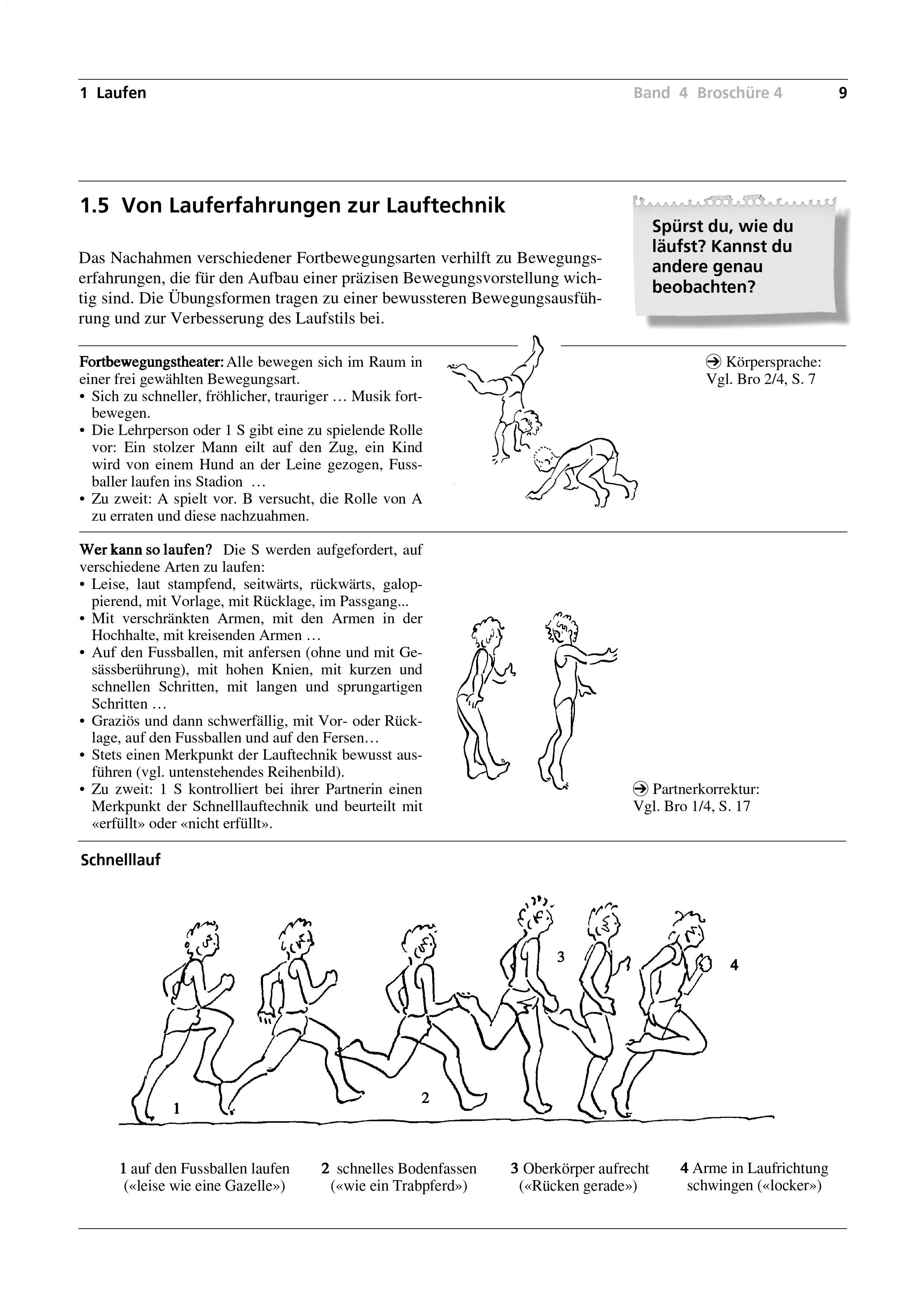 Preview image for LOM object Von Lauferfahrungen zur Lauftechnik
