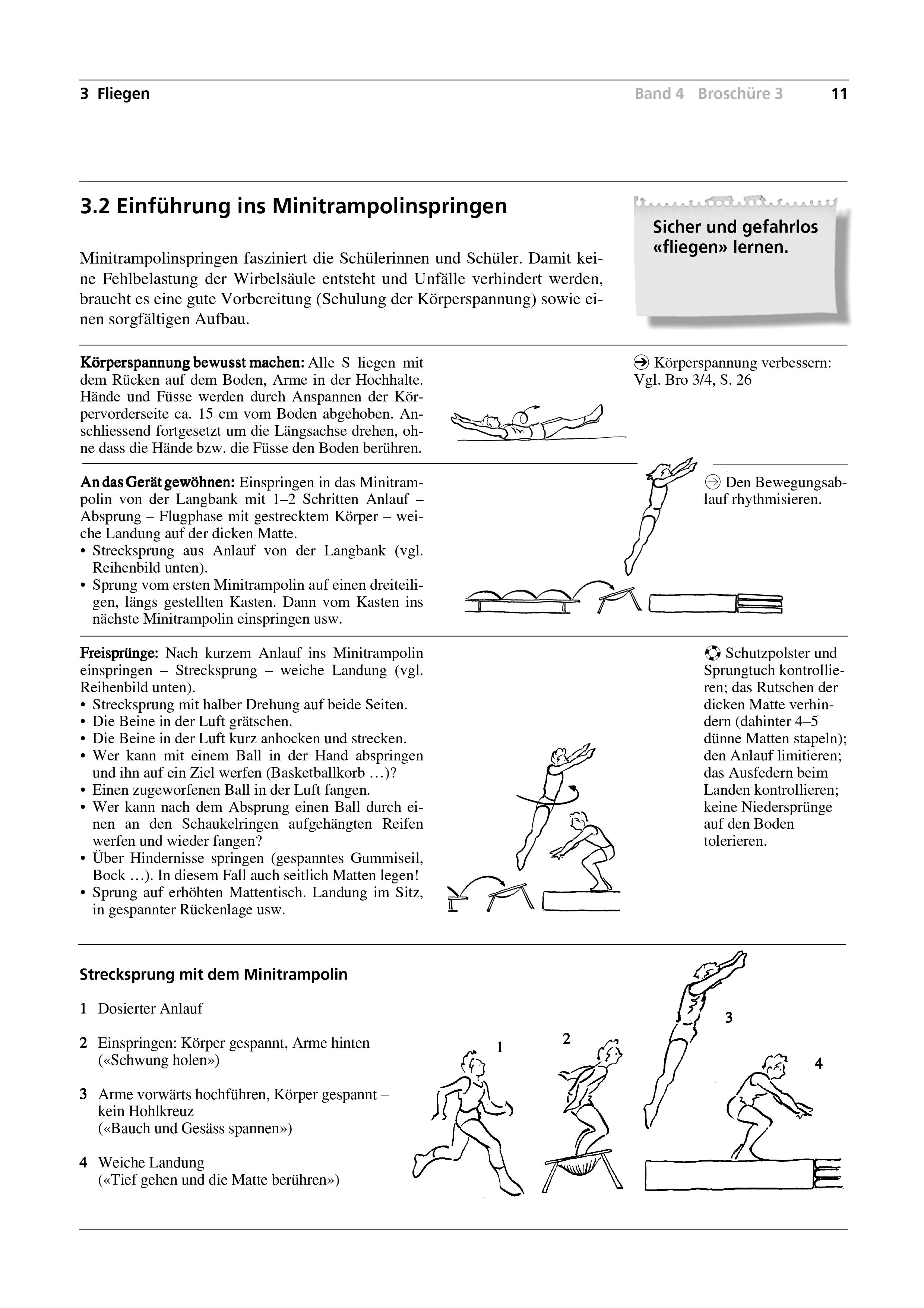 Preview image for LOM object Einführung ins Minitrampolinspringen