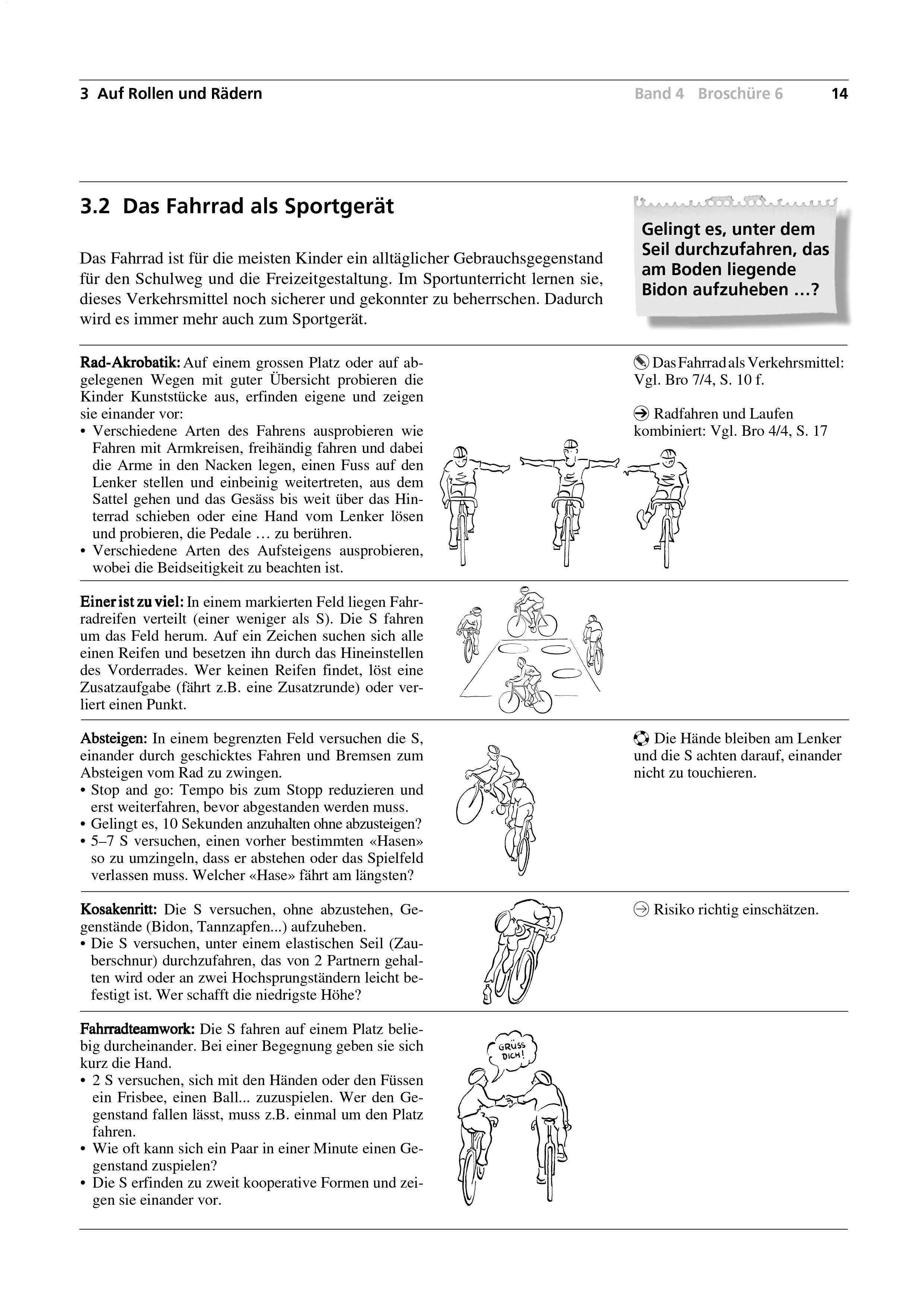 Preview image for LOM object Das Fahrrad als Sportgerät