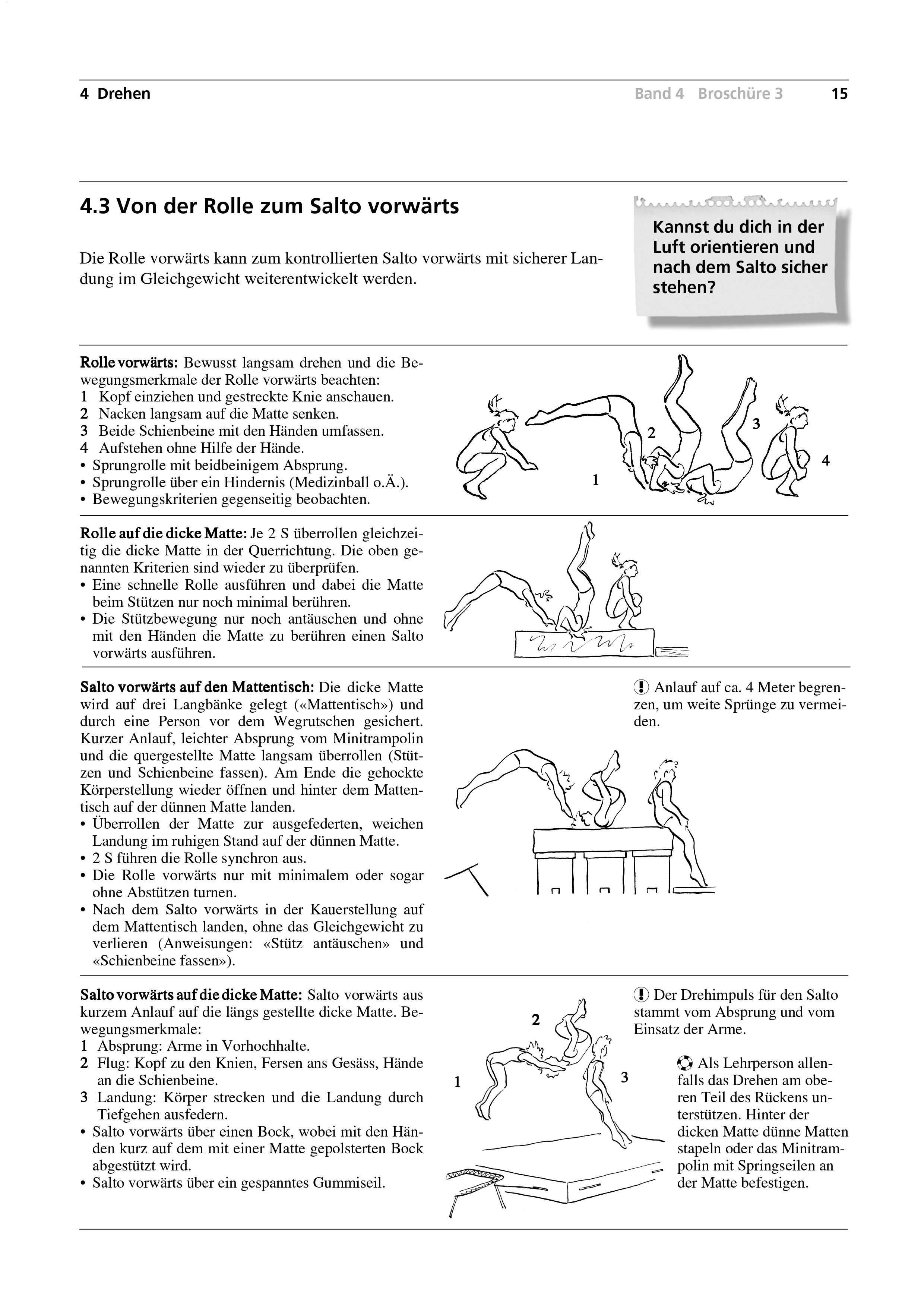 Preview image for LOM object Von der Rolle zum Salto vorwärts