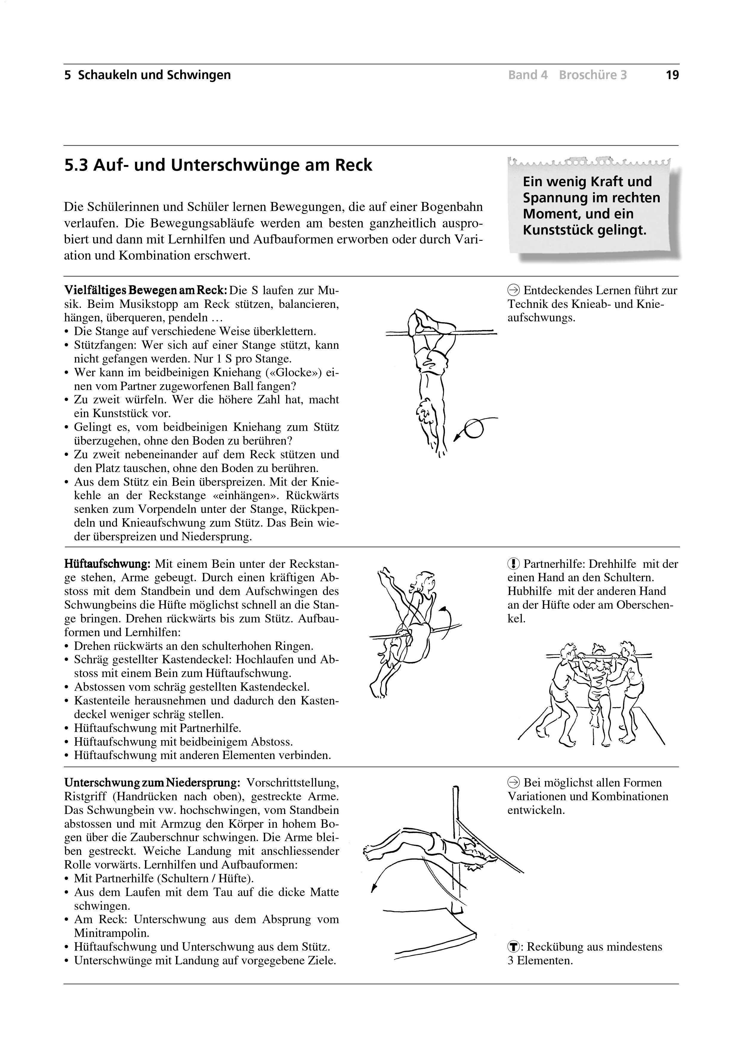 Preview image for LOM object Auf- und Unterschwünge am Reck