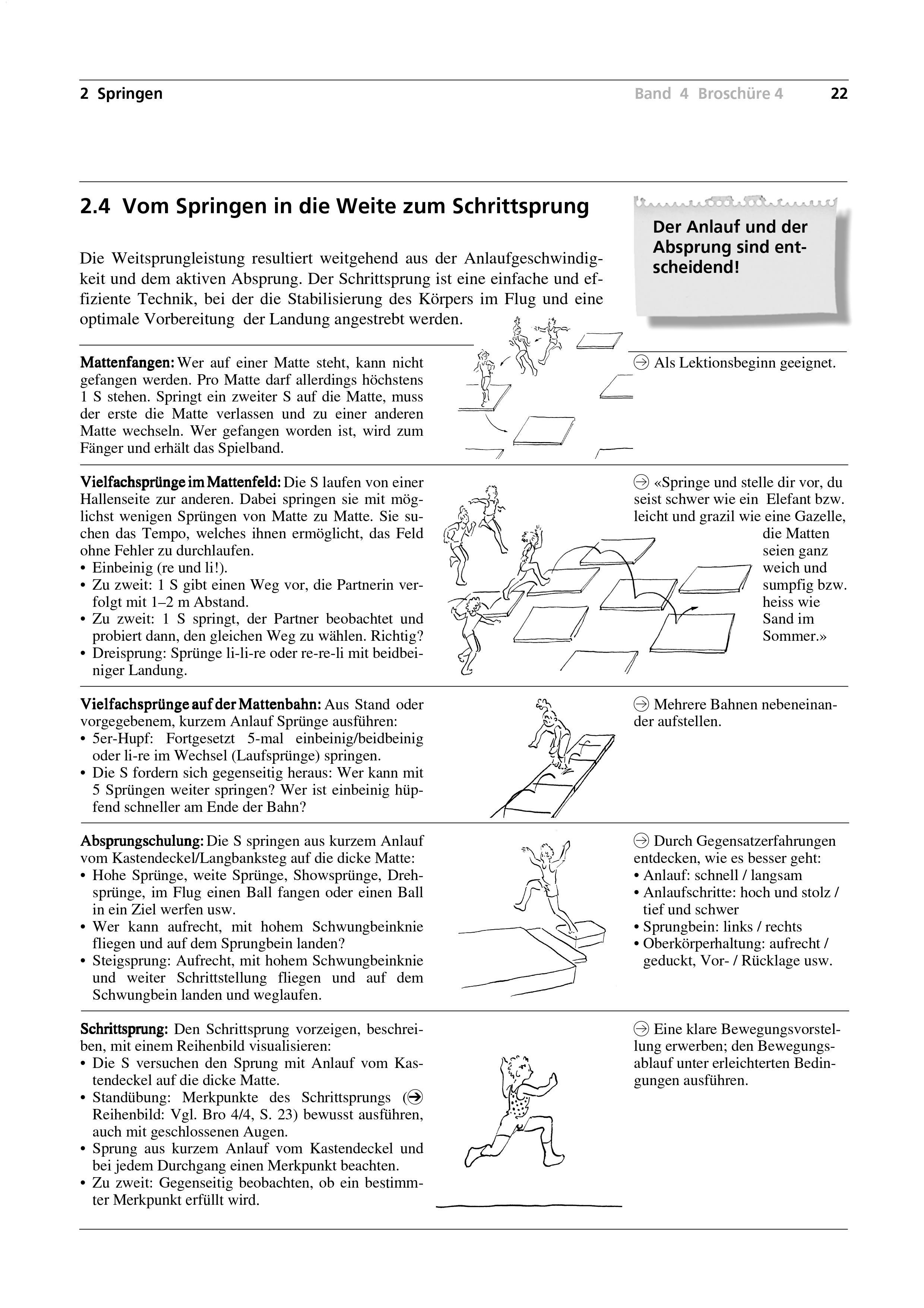 Preview image for LOM object Vom Springen in die Weite zum Schrittsprung
