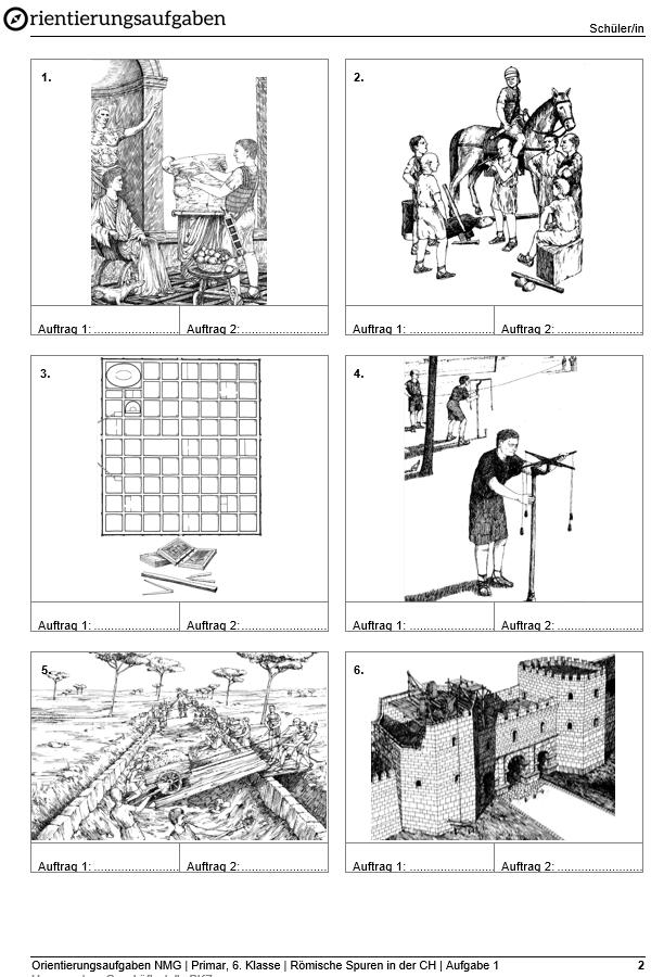 Preview image for LOM object Wie die Römer eine Stadt bauten