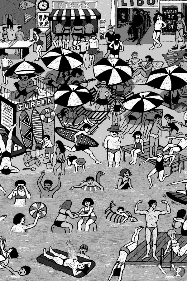 Preview image for LOM object Strandbad live – eine Radioreportage