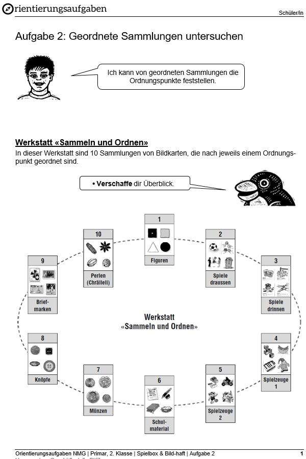 Preview image for LOM object Geordnete Sammlungen untersuchen