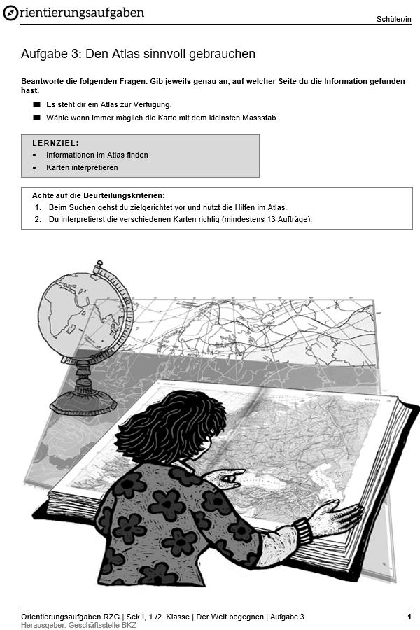 Preview image for LOM object Den Atlas sinnvoll gebrauchen
