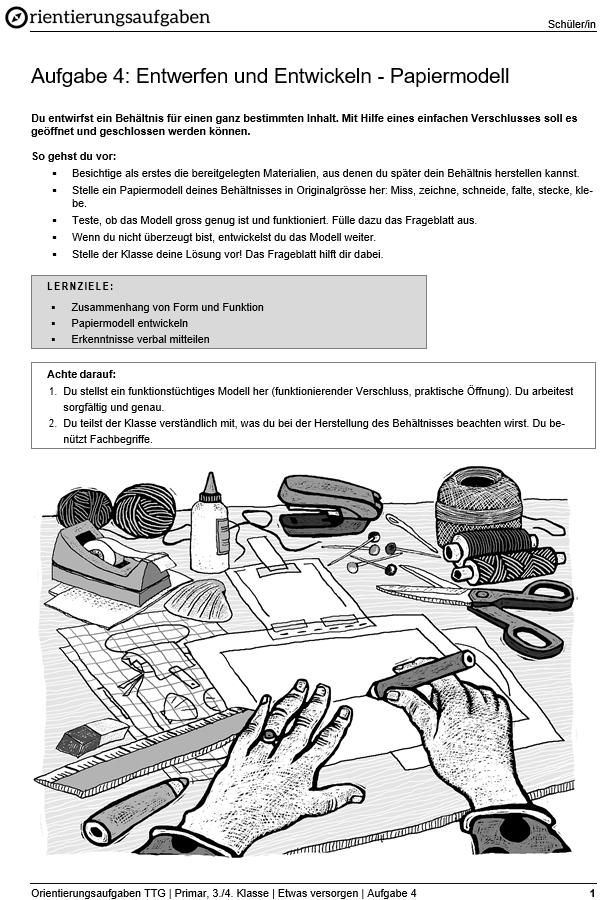 Preview image for LOM object Entwerfen und Entwickeln - Papiermodell