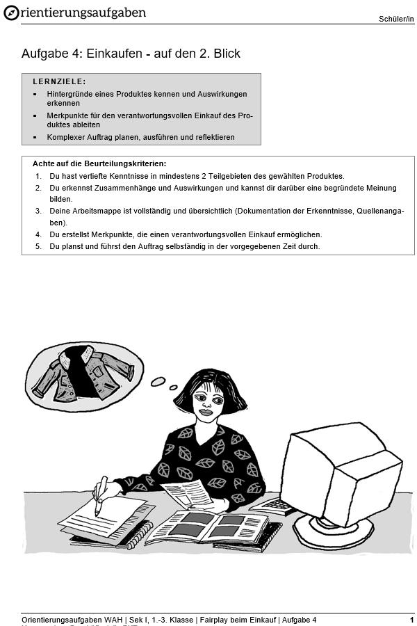 Preview image for LOM object Einkaufen - auf den 2. Blick