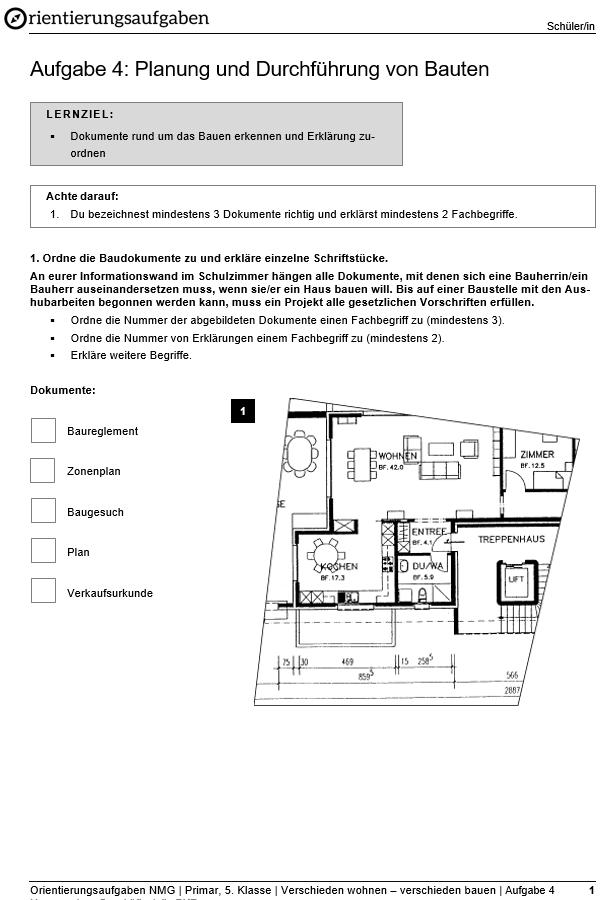 Preview image for LOM object Planung und Durchführung von Bauten