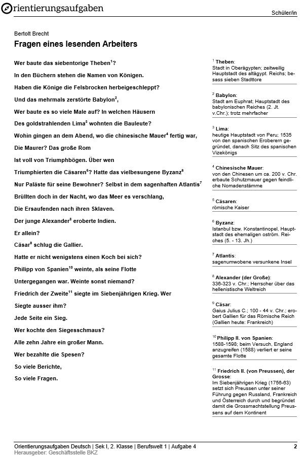Preview image for LOM object Gestaltender Umgang mit Gedichten