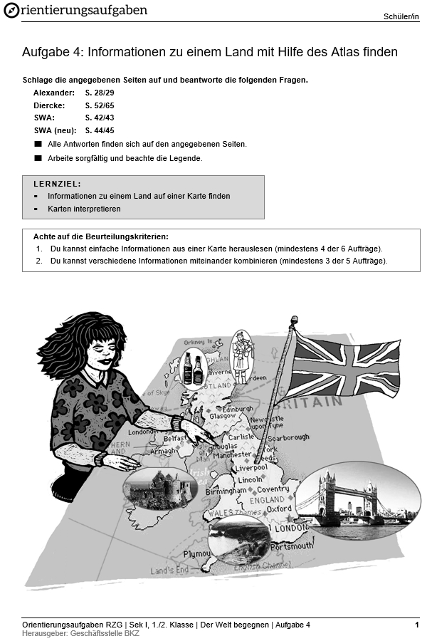 Preview image for LOM object Informationen zu einem Land mit Hilfe des Atlas finden