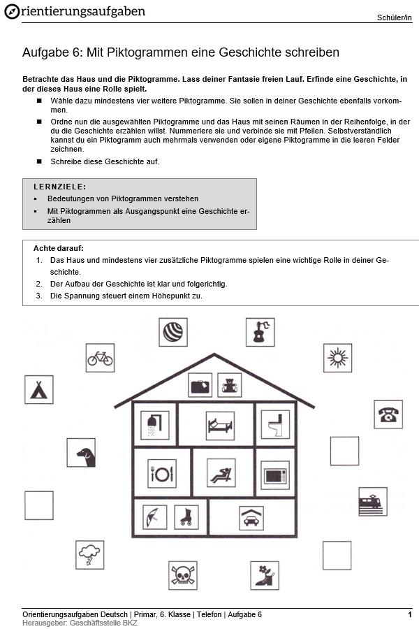 Preview image for LOM object Mit Piktogrammen eine Geschichte schreiben