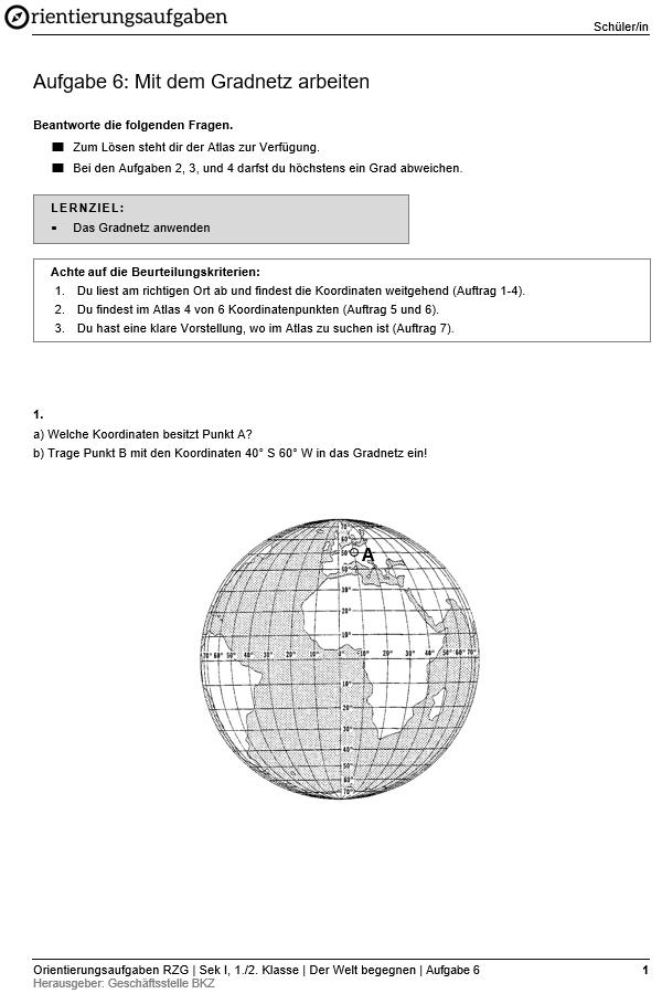 Preview image for LOM object Mit dem Gradnetz arbeiten